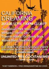 [AGENDA] 'CALIFORNIA DREAMING' EN FF CLUB